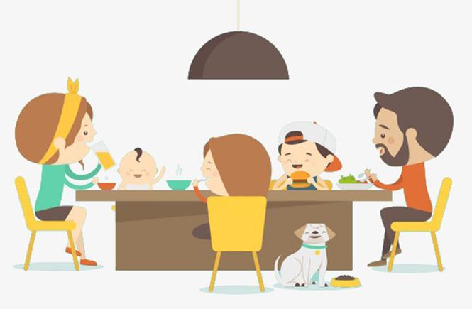 la galère des repas en famille