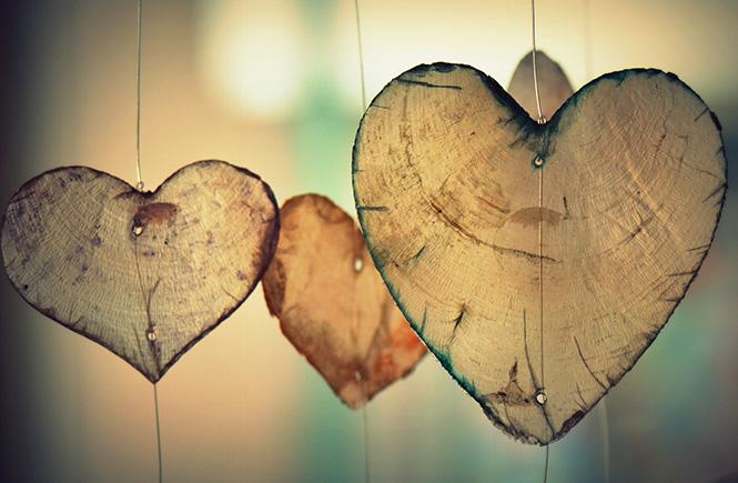 coeur en miette