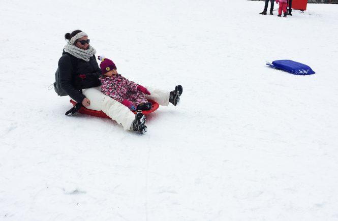 journée à la neige